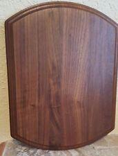 Solid Walnut Blank Wood Plaque 8
