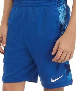 NWT NIKE BOYS BLUE MESH SHORTS YOUTH SIZE SMALL, MEDIUM, LARGE, OR EXTRA LARGE