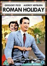 ROMAN HOLIDAY DVD ( Region 2 ) Audrey Hepburn Gregory Peck