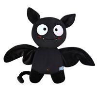 Halloween Plüsch Fledermaus Plush Bat Schwarz 30cm Kuscheltier Plüschpuppe Dekor