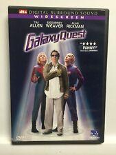 Galaxy Quest (Dvd,2000,Widescreen) Dts Surround Sound,Fantastic! Usa!