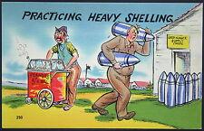 Military Humor - Practicing Heavy Shelling - Patriotic P510