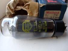 EL33 MULLARD YELLOW PRINT KT61 GB  NOS VALVE TUBE 1PC