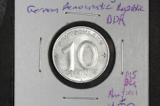 "1952 ""A"" 10 Pfennig German Democratic Republic - East Germany - DDR - KM#1 MS/BU"