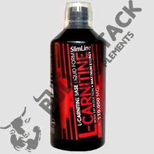 1L L-Carnitin Liquid HOCHDOSIERT 110.000mg Stärkstes Carnitine Fettverbrennung