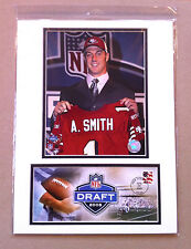 ALEX SMITH SAN FRANCISCO 49ers KC CHIEFS 12x16 DOUBLE MATTED PHOTO & EVENT COVER