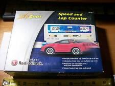 Vintage (New Old Stock) in box RadioShack Zip Zaps Micro Rc Speed & Lap Counter