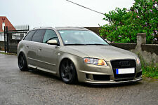 Audi A4 B7 (Saloon & Estate) Side Skirts Bars Sline Look