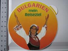 Aufkleber Bulgarien Mein Reiseziel (1121)