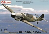 MESSERSCHMITT Bf-109 G-10 ERLA (LUFTWAFFE MKGS)#7611 1/72 AZ MODEL