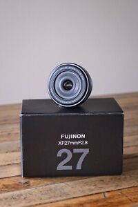"""Fujifilm XF 27mm 2.8 lens - Hardly used as """"New"""" condition. Melbourne."""