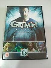 Grimm Sechste Ultima Saison 6 Serie TV - 4 X DVD + Extras,Spanisch,Englisch - 3T