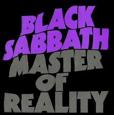 Black Sabbath - Master Of Reality Vinyl LP Heavy Metal Ozzy Sticker or Magnet