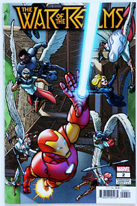 War of the Realms #2 Connecting Variant - Marvel Comics - J Aaron - R Dauterman