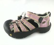 EUC $45 KEEN Kids SHOES Waterproof Hiking SANDALS Pink Girls Toddler US 9 EU 26