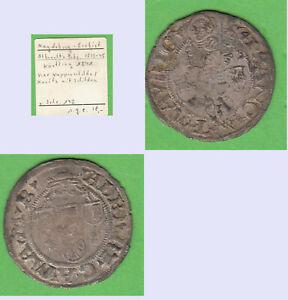 Körtling (Halbgroschen) Magdeburg Erzbistum Albrecht von Brandenburg 1513-1545