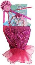 Children's Girls Fancy Dress Magical Mermaid Princess Dress Up Costume Outfit