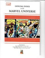 Official Index To The Marvel Universe #9 2009 Marvel Comic.#83750D*6