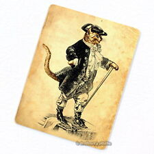Puss in Boots Deco Magnet, Fridge Master Cat Antique Story Illustration Gift