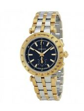 Versace Men's 'V-Race' Swiss Quartz Stainless Steel Casual Watch, Color:Two Tone