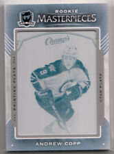 15-16 UD The Cup Rookie Masterpieces Champs Plate Andrew Copp 1/1 Winnipeg Jets