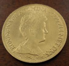 Néerlandais 1917 Or 10 Gulden UNC