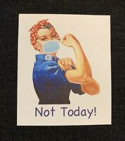 Lot 6 Stickers Rosie The Riveter 2020 Nurse Doctor Essential Worker Corona