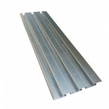 Double Sided Slatwall Aluminum Slatwall Panel Merchandising Slatwall Metal Board