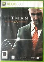HITMAN BLOOD MONEY XBOX 360 Video Game Manual