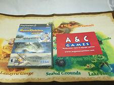 Sega Bass Fishing Duel Sony PlayStation 2 PS2 Brand New Sealed