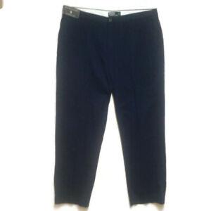Polo Ralph Lauren Prospect Pants NWT Mens Sz 40 x 30 Zip Up 4 Pocket Blue Cotton