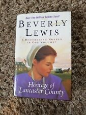 BEVERLY LEWIS HERITAGE OF LANCASTER COUNTY  3 NOVELS IN 1. HARDCOPY