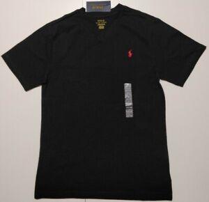 GENUINE Polo Ralph Lauren BLACK, T Shirt Boy , kids size LG , age14-16