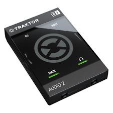 Native Instruments Traktor Audio 2 MK2 USB DJ Audio Interface with Traktor LE