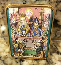 Halcyon Days Enamel British Library eaglecrown Ltd Ed 62/250 Queen Of Hearts Box