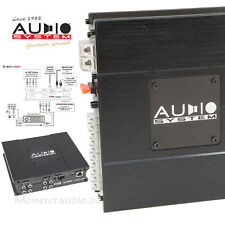 AUDIO SYSTEM X80.4DSP high end Verstärker + 8-Kanal DSP digitaler Soundprozessor