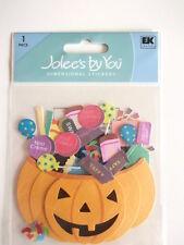 Jolee's By You adesivi dimensionali-Cesto di Zucca Halloween