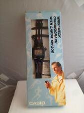 Casio VINTAGE OROLOGIO WATCH Sw-200 SW200 SW 200  NEW WRIST/NECK BLACK IT