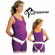 Prenatal Cradle V2 Supporter (White) Perinatal Cares Pelvic Floor Recovery Large