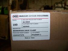 MacLean Senior Industries Messenger Drop Clamp 100 ea. SI-0969 New