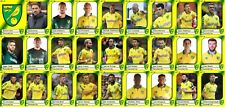 Norwich City Football Squad Trading Cards 2017-18