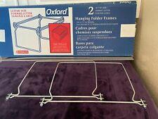Hanging Folder Frame Letter Size Pendaflex Esselte Oxford 21 27 File Drawers