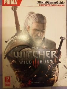 The Witcher 3: Wild Hunt Prima Official Game Guide Paperback