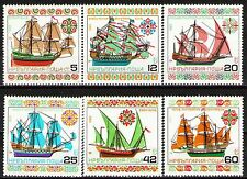 Bulgaria 1985 Sc3108-13 Mi3408-13  6v  mnh  Historic Sailing Ships