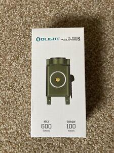 OLIGHT PL-MINI 2 OD Green 600 Lumen Tactical Rechargeable Rail Mount WeaponLight