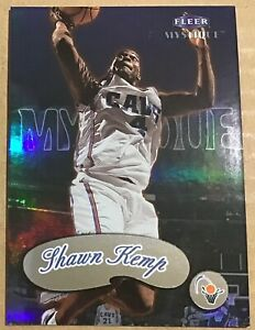 1999-00 SHAWN KEMP FLEER MYSTIQUE CARD #88 CLEVELAND CAVALIERS