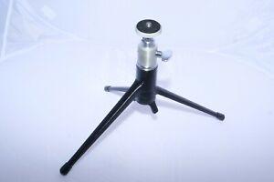 Leitz Wetzlar Small FOOMI Ball Head, Leitz 14100 Table top Tripod Leica IIIF, M3