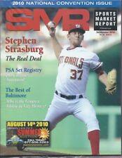 SMR 2010 SEP Sports Market Report Strasburg Real Deal Registry Winners Baltimore