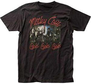MOTLEY CRUE T-Shirt Girls Girls Girls Mens Tee New Authentic S-2XL