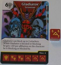 GLADIATOR: STRONTIUM 118/142 The Amazing Spider-Man Dice Masters Rare